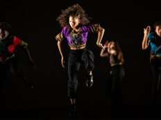 East London Youth Dance Company at U.Dance, 2020 - Photo by Roswitha Chesher