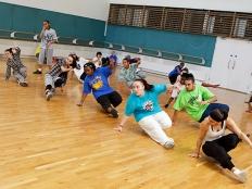 Hip hop break crew