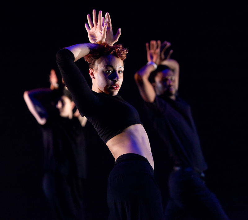 Collabo dance event at East London Dance