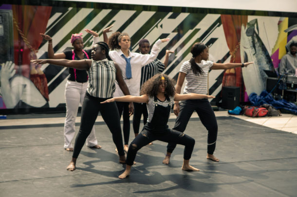 East London Youth Dance Company - Photo credit Rory James @roryjamesphoto